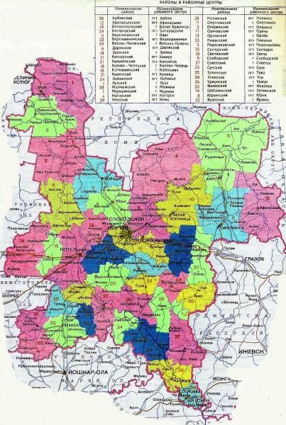 Санчурский Район Карта